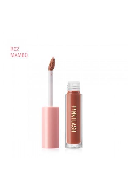 PINKFLASH 18 Colors OhMyKiss Liquid Lipstick Soft Matte VE Moisturising Long lasting